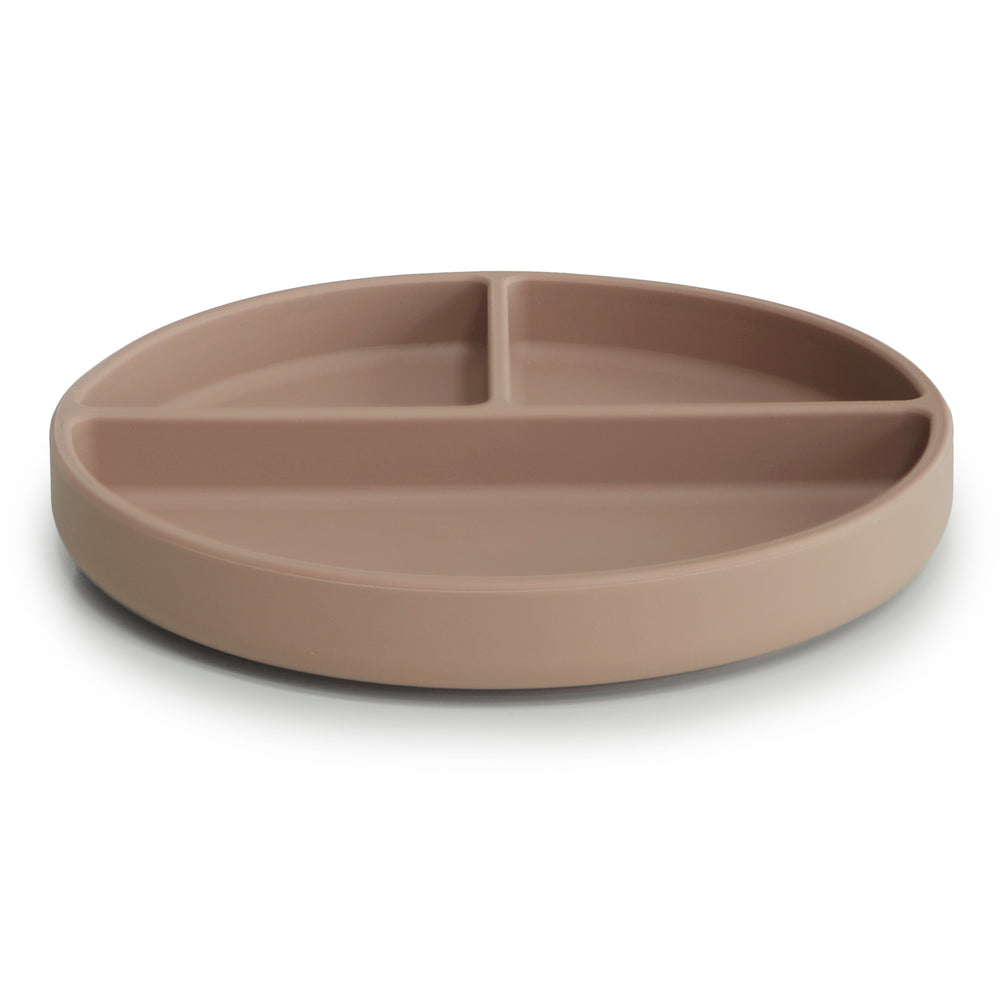 Silicone Suction Plate (Natural)