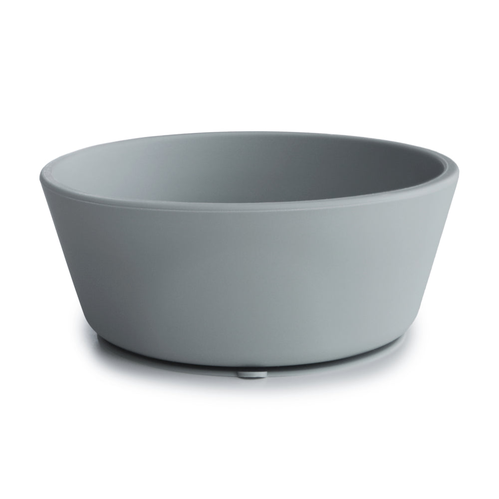 Silicone Suction Bowl (Stone)