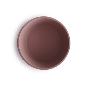 Silicone Suction Bowl (Cloudy Mauve)