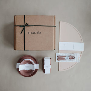 Mealtime Gift Set (Blush/Woodchuck)