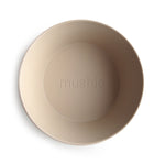 Round Dinnerware Bowl, Set of 2 (Vanilla)