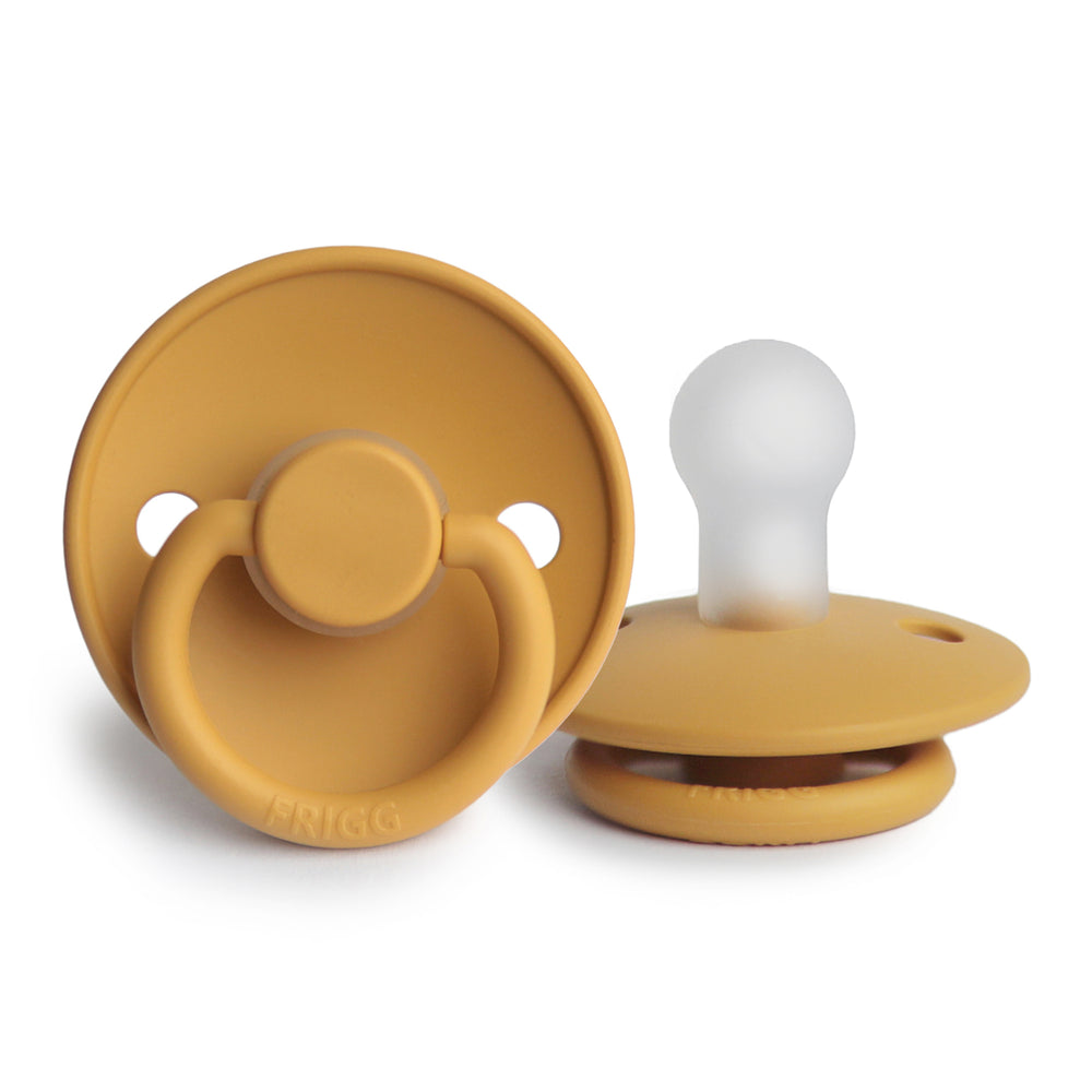 FRIGG Silicone Pacifier (Honey Gold)