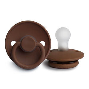 FRIGG Silicone Pacifier (Milk Chocolate)
