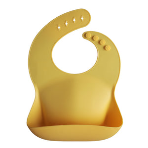 Silicone Baby Bib (Mineral Yellow)