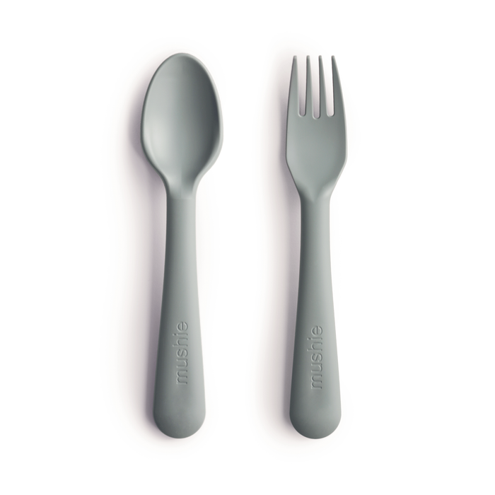 Fork and Spoon Set (Sage)
