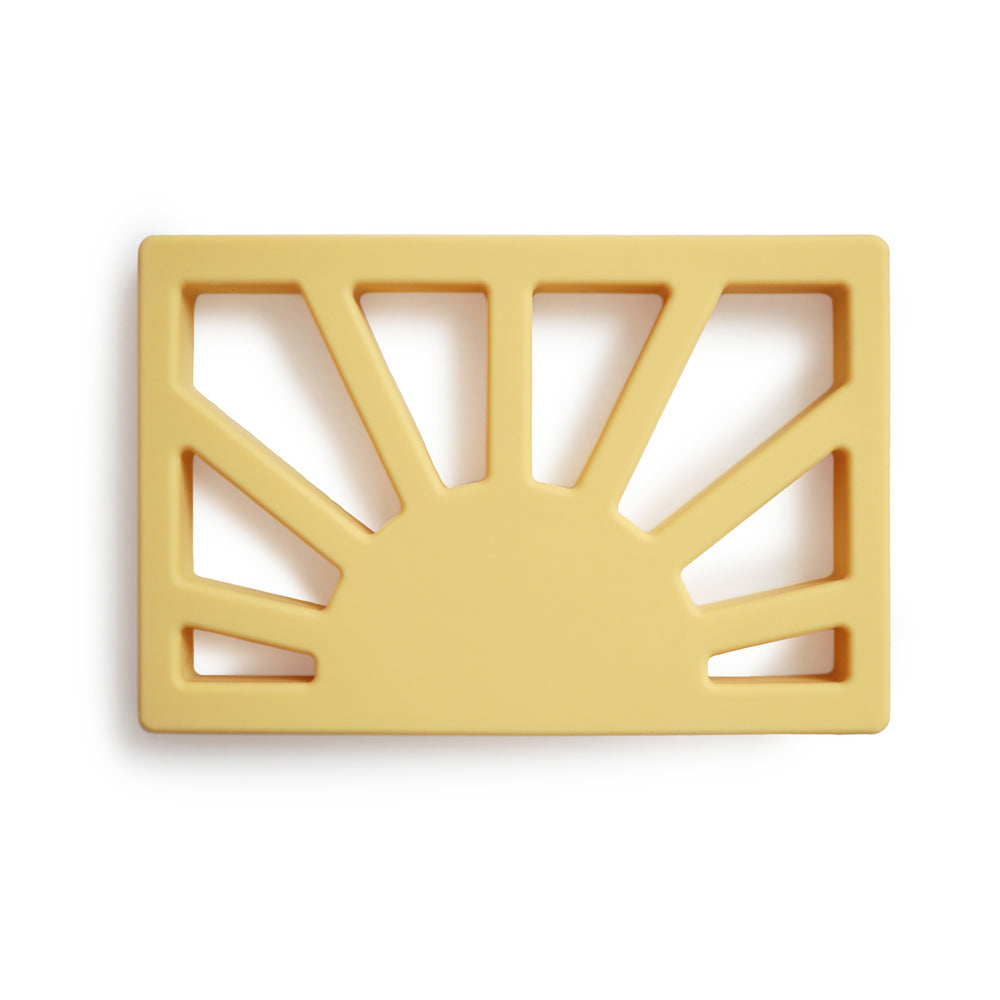 Sun Teether (Muted Yellow)