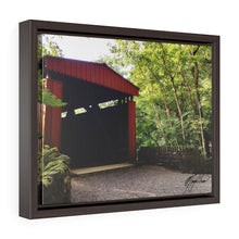 Load image into Gallery viewer, Summer Covered Bridge Framed Canvas - Various Sizes