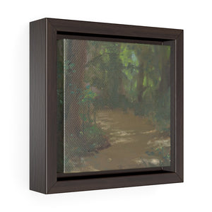 The Path Square Framed Canvas - Various Sizes