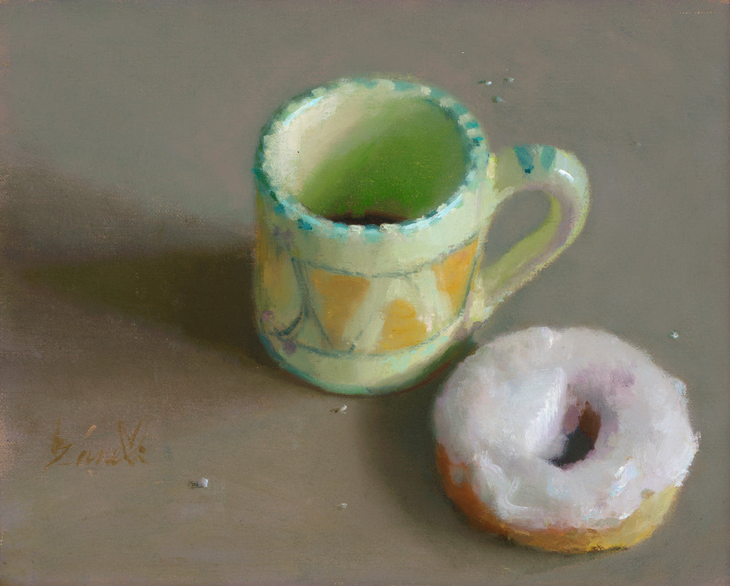 Coffee and Donuts - 8x10 Print