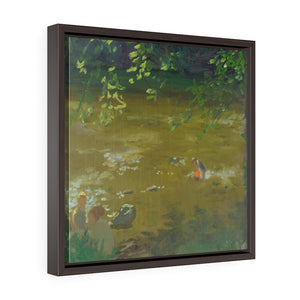 Morning Sun Square Framed Canvas - Various Sizes