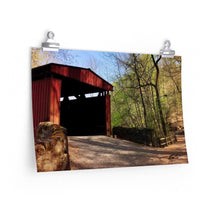 Load image into Gallery viewer, Spring Covered Bridge Print-Various Sizes