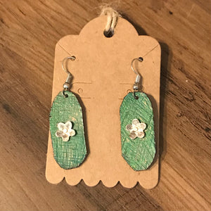 Upcycled Metal Earrings