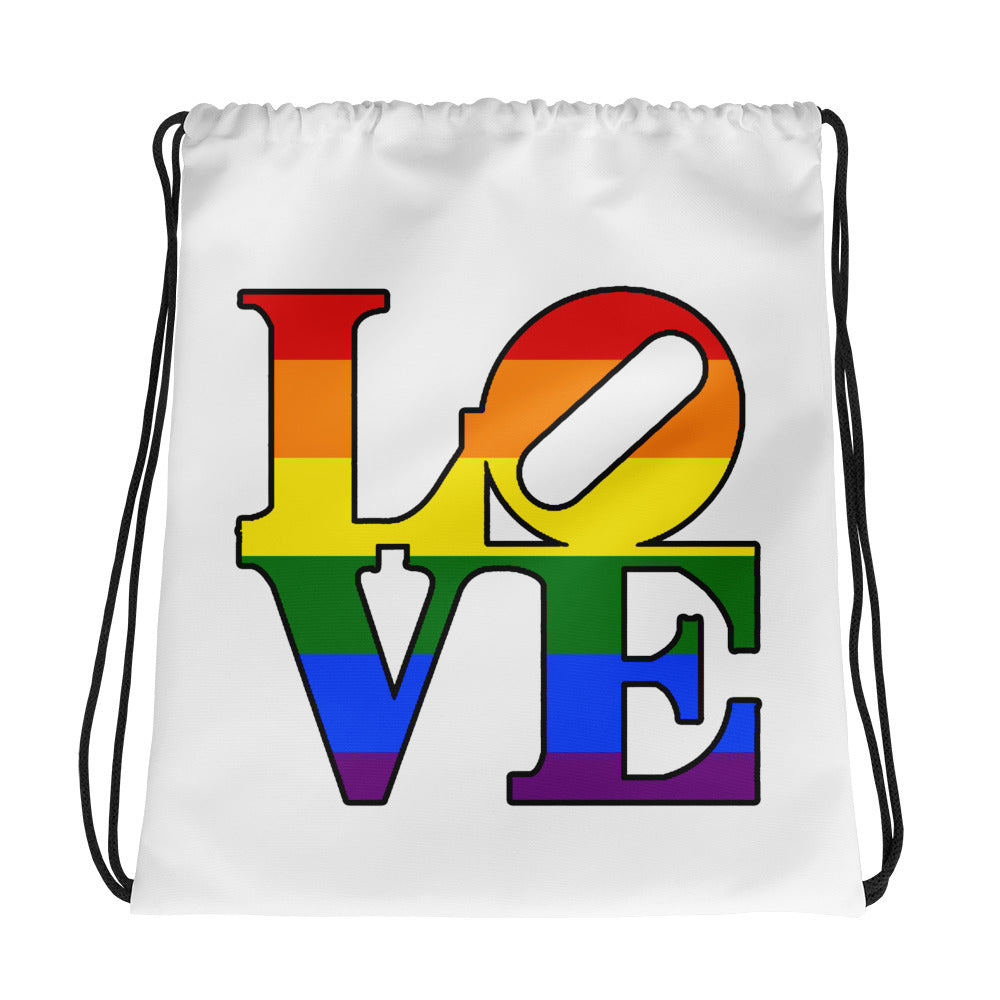 Philly LOVE Drawstring Bag