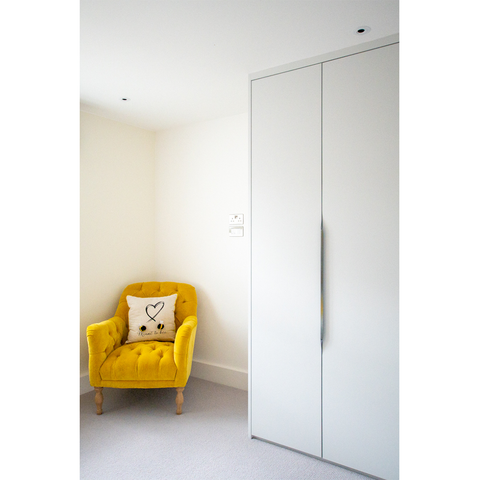 Painted Flat Panel Wardrobe