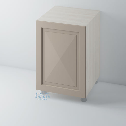 Painted Shaker Style Diamond Kitchen Door