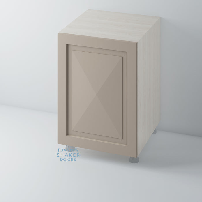 Painted Diamond Kitchen Door