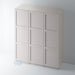 Painted Shaker 3 Panel Wardrobe Door