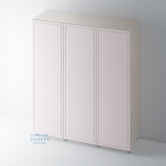 Painted Imitation Frame Wardrobe Door