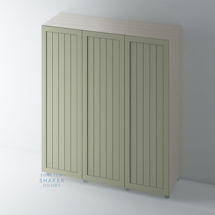 Painted Shaker Tongue & Groove Panel Wardrobe