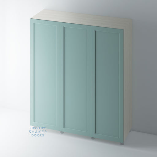 Painted Shaker Style Wardrobe Door with Ovolo Mouldings