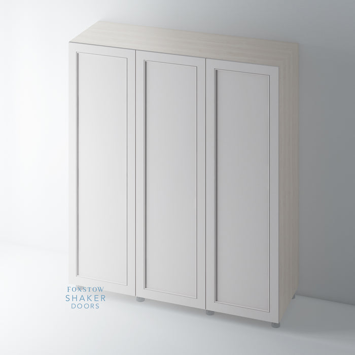 Painted Shaker Staff Bead Wardrobe Doors for IKEA PAX