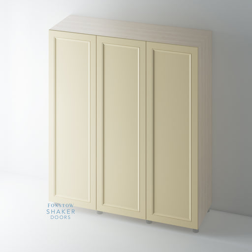 Painted Shaker Ogee Wardrobe Door for IKEA PAX