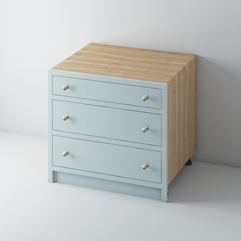 3 Drawer Base Cabinet 1000