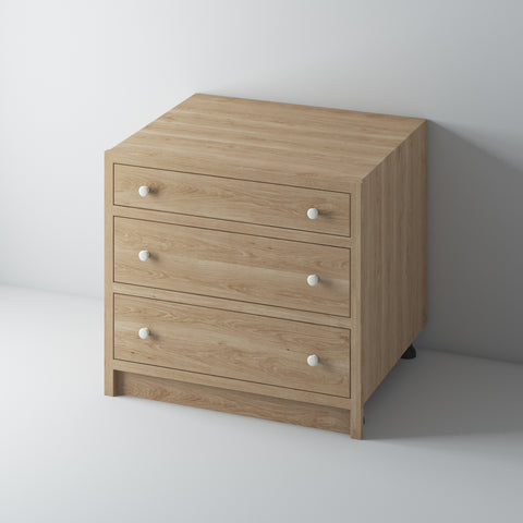 3 Drawer Base Cabinet 1000/OO