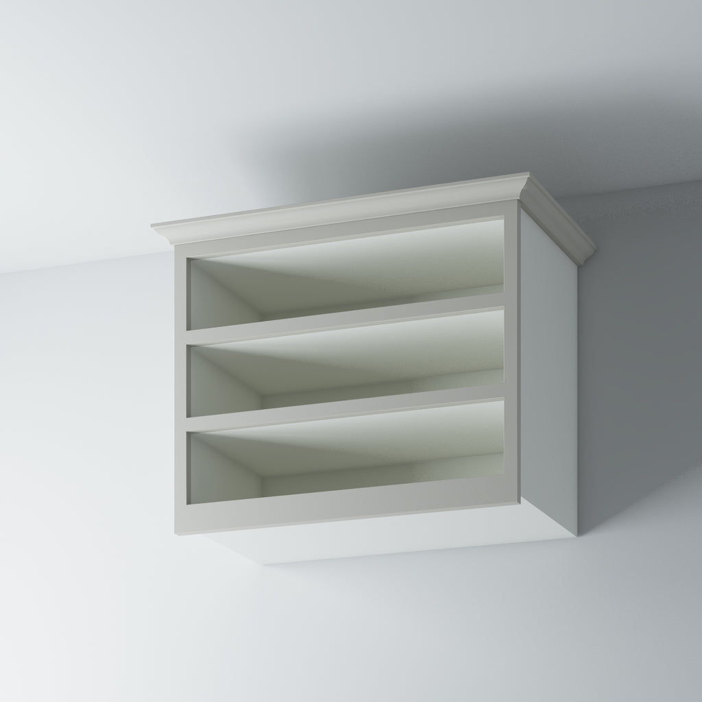 Open Shelf Wall Cabinet 1000/WM