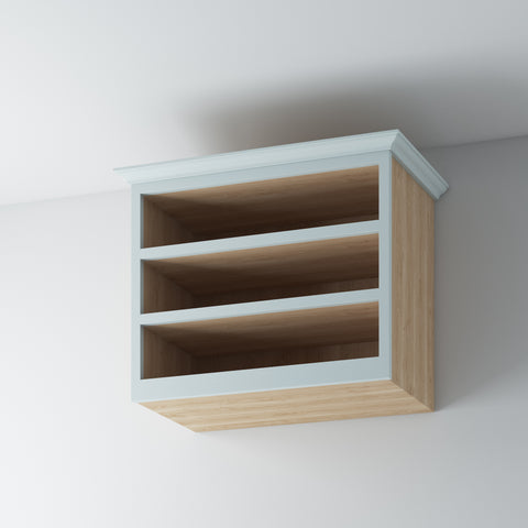 Open Shelf Wall Cabinet 1000