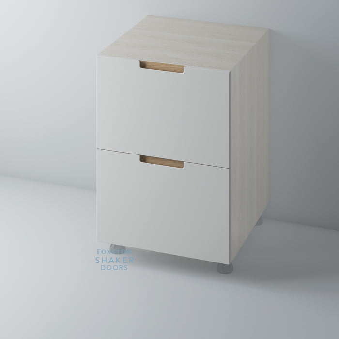 Painted J Groove Oak Insert Kitchen Drawer