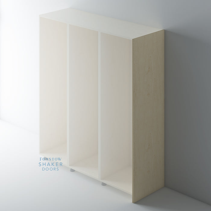 Birch Ply Flat Tall End Panels for IKEA PAX