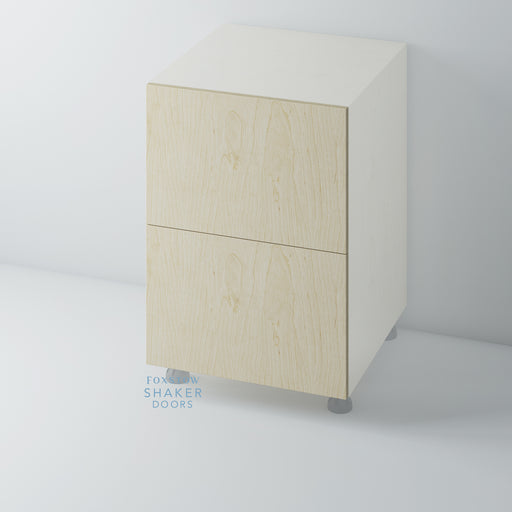 Birch Plywood Flat Panel Kitchen Drawers for IKEA METOD