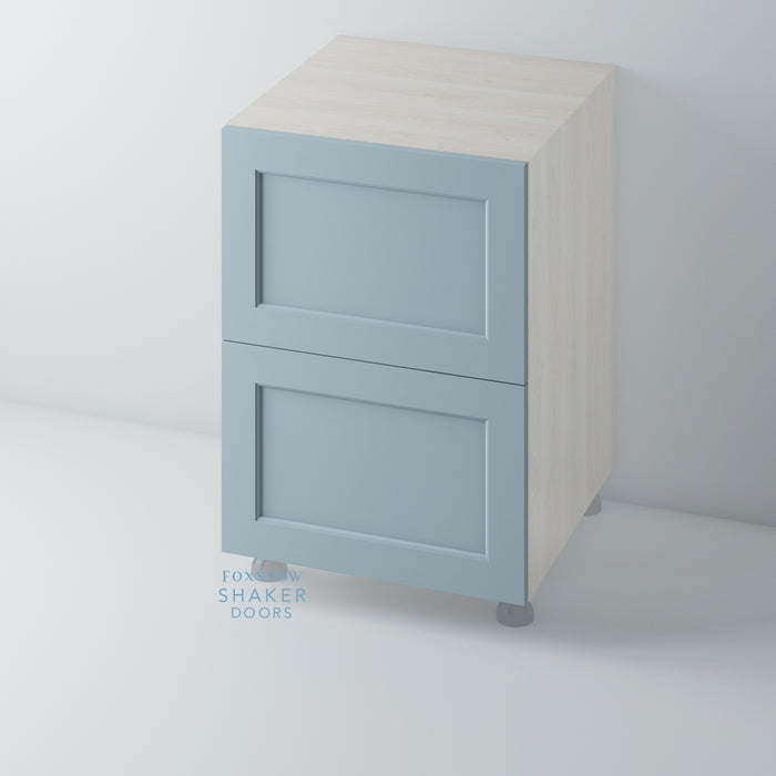 Painted Shaker Kitchen Drawer with Ovolo Mouldings for IKEA METOD