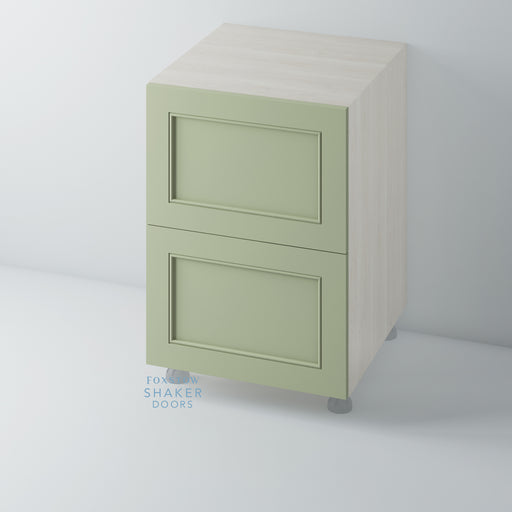Painted Shaker Kitchen Drawer with Staff Bead Mouldings