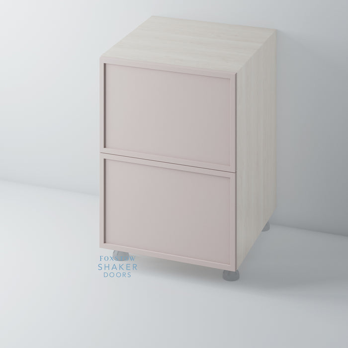 Painted Shaker Slimline Kitchen Drawer for IKEA METOD
