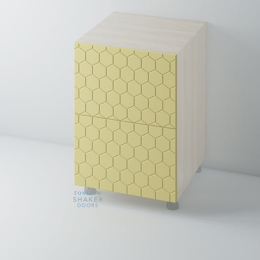 WASPS Painted Flat Panel Kitchen Drawers for IKEA METOD