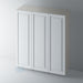 Primed Shaker Stepped Panel Wardrobe Doors for IKEA PAX