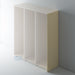 Painted Shaker Style Tall End Panels with Ogee Mouldings for IKEA PAX