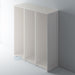 Painted Shaker Style Tall End Panels with Staff Bead Mouldings for IKEA PAX