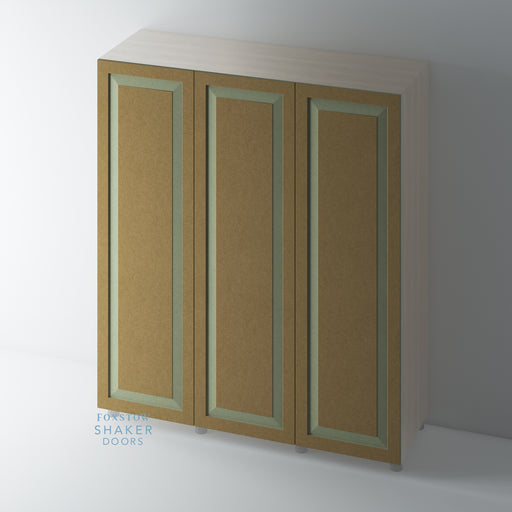 Bare Shaker Raised Panel Wardrobe Doors for IKEA PAX