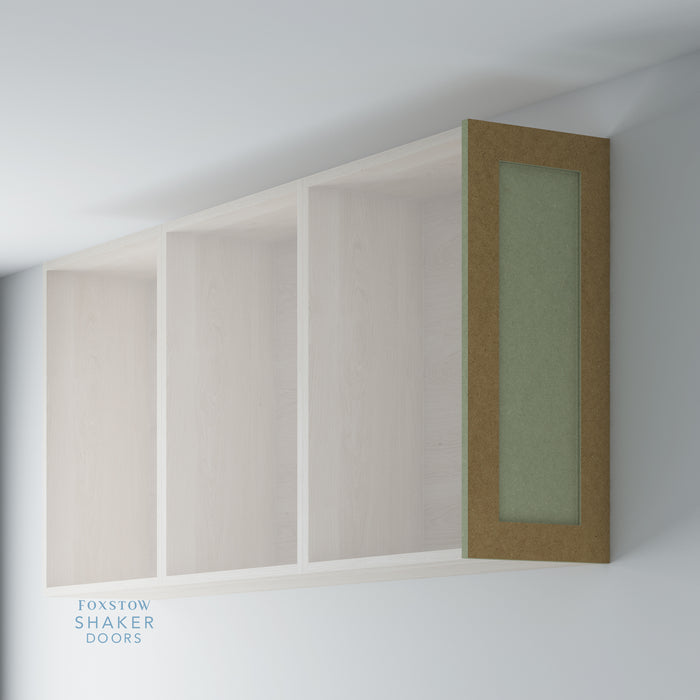 Bare Shaker Kitchen Wall End Panel for IKEA METOD