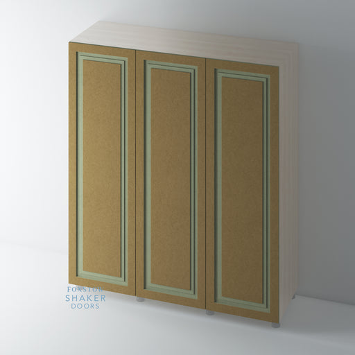 Bare Shaker Stepped Panel Wardrobe Doors for IKEA PAX