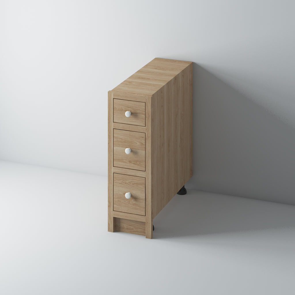 3 Drawer Base Cabinet 300/OO