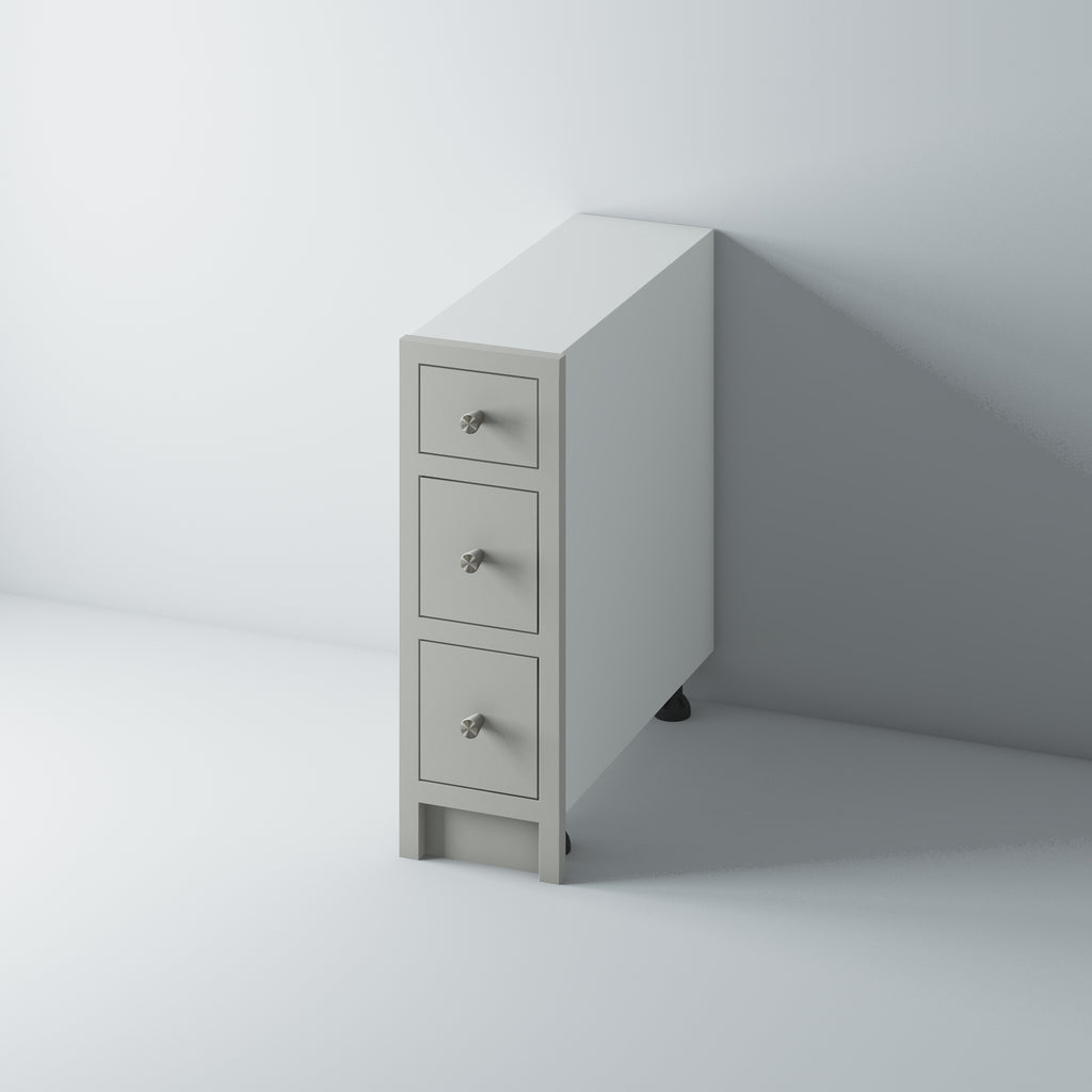 3 Drawer Base Cabinet 300/WM