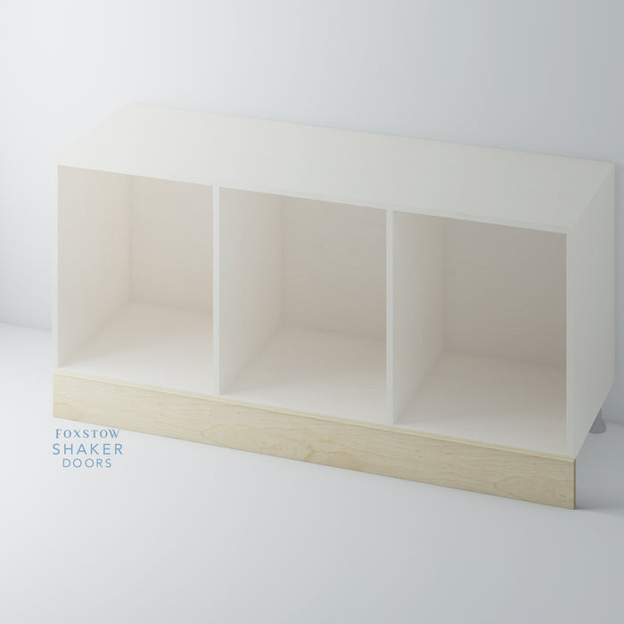 Birch Plywood Plinth 150mm