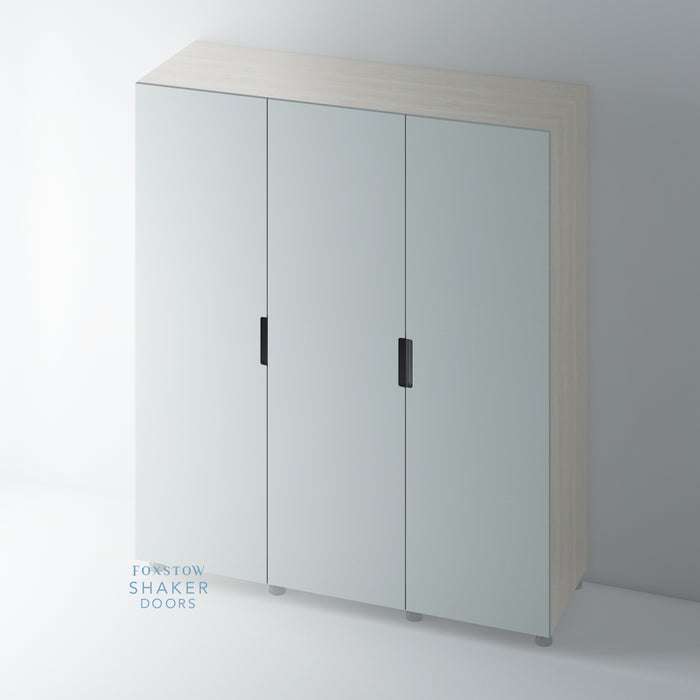 J Groove Stainless Steel Insert Wardrobe Door