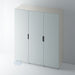 Painted J Groove Stainless Steel Insert Wardrobe Door