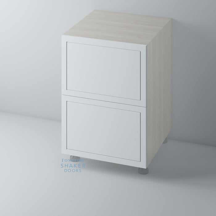 Primed Imitation Frame Kitchen Drawer