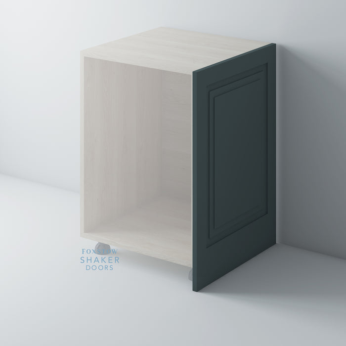 Painted Shaker Style Stepped Panel End Panel